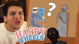 ¿QUÉ LE PASÓ A GRANNY? WTF - Granny (Horror Game) en Happy Wheels