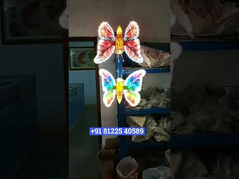 Dancing LED Butterfly Wedding Decoration New Concept +91 81225 40589