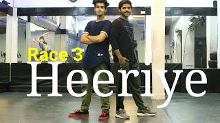 Heeriye - Race 3 | Dance Choreography  | Vicky Dubey | DXB Dance Studio