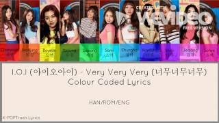 Very Very Very (너무너무너무) - I.O.I (아이오아이) Colour Coded Lyrics (HAN/ROM/ENG)