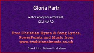 Gloria Partri - Hymn Lyrics & Music