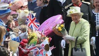 Perayaan ulang tahun Ratu Elizabeth ke-90