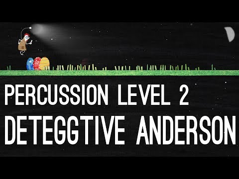 Deteggtive Anderson - Percussion Level 2 - YouTube