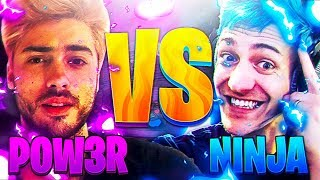 🔥POW3R vs NINJA FORTNITE🔥CHI VINCERà?🔥