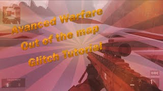 """Call Of Duty: Advanced Warfare - NEW """"Out Of The Map"""" Retreat Glitch! (New CoD AW Glitches)"""