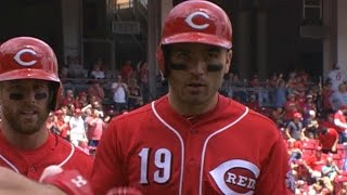 STL@CIN: Votto homers in four-hit game vs. Cardinals