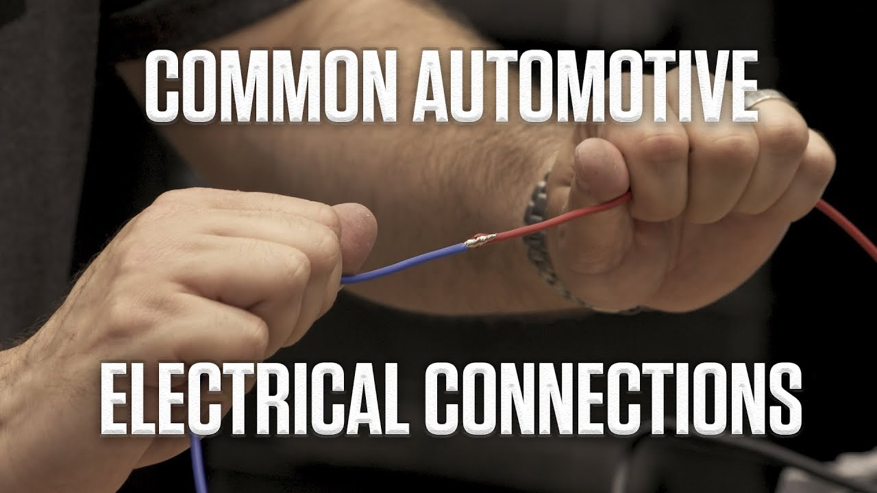 DIY: Guide to Common Automotive Electrical Connections