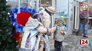 Дед мороз ждет гостей на Центральном рынке