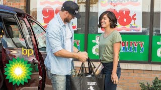 Chase Rice and BP Help a Busy Mom Run Errands For a Day
