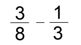 Resta de Fracciones Con Diferente Denominador (Fracciones Heterogéneas) - Salvador FI
