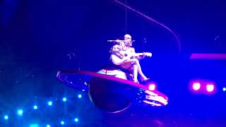 Thinking of You - Katy Perry flying - Witness tour World premiere