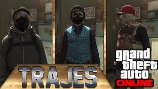 GTA V ONLINE - MEUS 10 TRAJES ATUAIS / OUTFITS #5