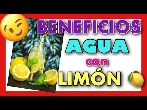 8 BENEFICIOS DE BEBER AGUA CON LIMÓN EN AYUNAS - Vídeo