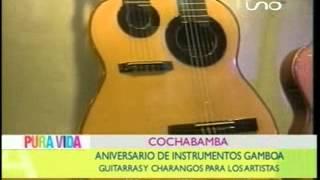 COCHABAMBA    ANIVERSARIO DE INSTRUMENTOS GAMBOA