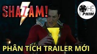 SHAZAM! - Phân tích trailer mới