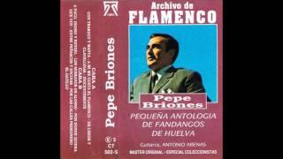 Pepe Briones   Archivo de Flamenco   Cassette   1992   03    De lirios y clavellinas