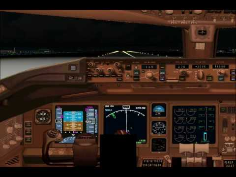 DELTA flight 201 departs Johannesburg to Atlanta (FS2004)