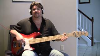 Barry White, You're my first, my last, my everything bass cover Brian Slayton