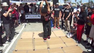 Sick Nick [ROUND 2] VS Ruc Boy aka Lil Weapon @ Vlado Dance Competition 6/16/2012