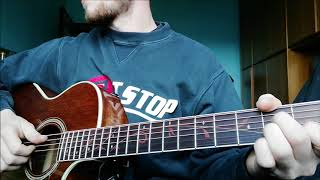 Blackbear - 4U Acoustic Guitar Tutorial