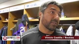 Vinicio Castilla: Momentos difíciles en Chicago con Colorado Rockies