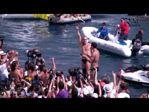 Red Bull Cliff Diving 2011. Yalta. Прыжки в воду. Ялта. 04.09.11