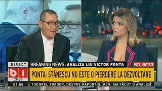 Victor Ponta B1TV - prima parte