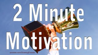2 Minute Motivator, Attract Abundance Wealth Success Prosperity Money Motivational Video #3