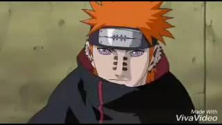 Kakashi vs Pain (linkin park-In the End