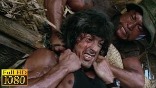 Rambo First Blood 2 (1985) - Boat Fight Scene (1080p) FULL HD