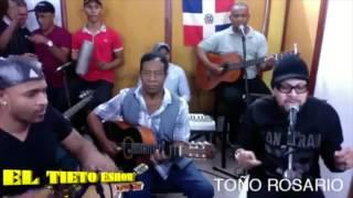 Toño Rosario en El Tieto Eshow Jenny (Bachata)