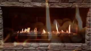IB1100 Luxury Gas Fireplace