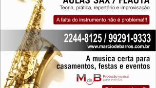 Lounge Beats by Paulo Arruda   Deep & Jazz   AULA SAX FLAUTA RJ