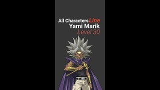 Yugioh Duel Links - Special Characters Line with Yami Marik Level 30