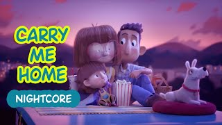 KSHMR - Carry Me Home (Nightcore) । Cute Animation Video
