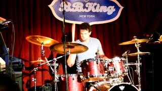 drum solo at BB Kings NYC 12/28/12