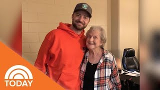 'You're Cuter In Person!' Justin Timberlake Meets Grandma From Viral Video & It's Delightful | TODAY