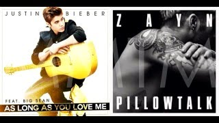 Pillow Love | Zayn Malik & Justin Bieber Mashup!