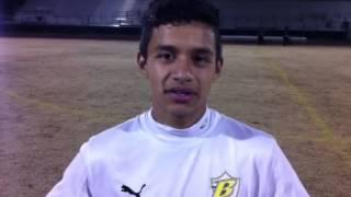Golden West soccer player Christian Ibarra