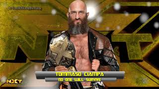 #NXT: Tommaso Ciampa 4th Theme - No One Will Survive (HQ + Arena Effects)