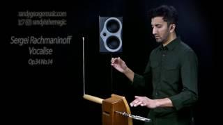 Sergei Rachmaninoff - Vocalise, Op.34 No.14 - Randy George, theremin