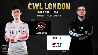 100 Thieves vs eUnited | CWL London 2019 | Day 3