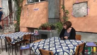 Seza kırgız - Klip kamera arkası