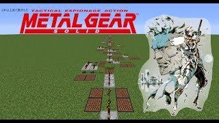 【Minecraft】音ブロックで「メタルギアソリッド2メインテーマ」