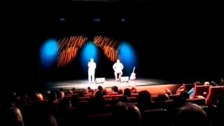 Quim Roscas & Zeca Estacionâncio ao vivo no Cineteatro D  João V na Damaia   2015 11 07 22 07 12