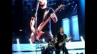 Nickelback - When We Stand Together - Live in Dallas, Texas on June 1, 2012