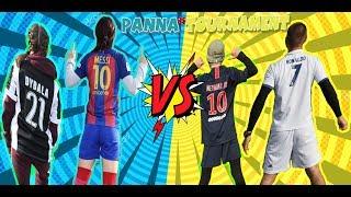 Messi, Dybala vs Cristiano Ronaldo, Neymar JR - Panna battle.