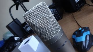 M-Audio Nova Vocal Test