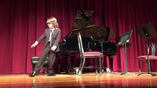 Jacob Velazquez performing Mozart Sonata Remix