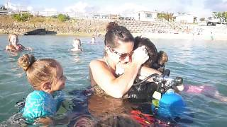 Video - Soldier Surprises Family In Scuba Gear!